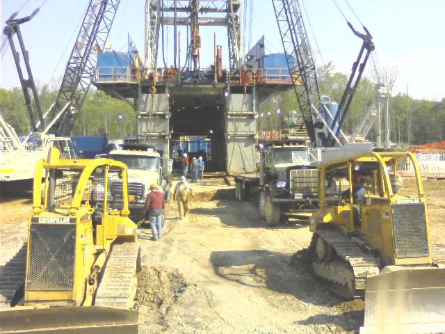 Dozer Services Provided For Rig Skid